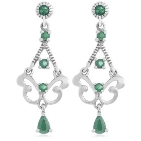 Silver Chandelier Earrings >>> Click To Buy From Amazon Today <<< If you are looking to buy a pair of silver chandelier earrings for yourself or as a wonderful gift...