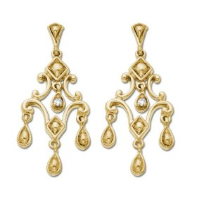 Where To Find The Perfect Gold Chandelier Earrings A pair of chandelier earrings will make any outfit look complete and when incorporated with diamonds, this adds a certain level of...