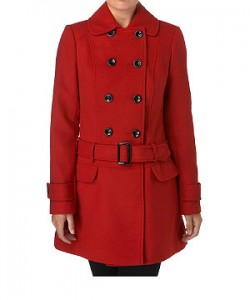 Red Winter Coat For Women| Buy The Perfect Red Coat Online | Two