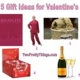 Gift Ideas for Valentine's Day Valentine's Day is just around the corner.  If you are happily loved up, you may be thinking about celebrating this special occasion by going out...