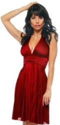 Red Halter Dress