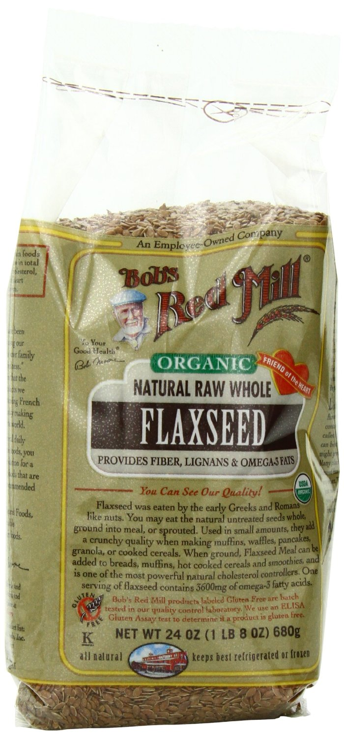Bobs Red Mill Organic Whole Flaxseed